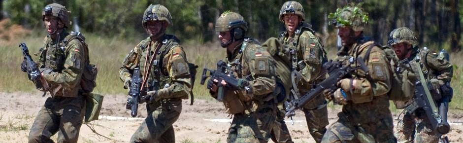 Bundeswehr an zwei Übungen in der Ukraine beteiligt