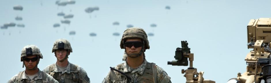 """""""Swift Response"""" mit 5000 Soldaten aus elf Nationen"""