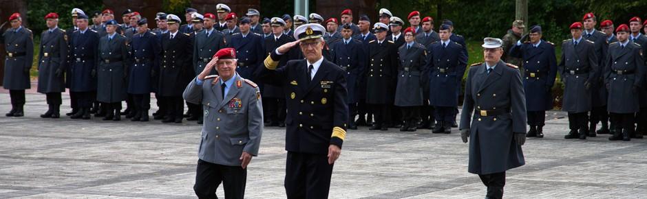Kommandowechsel bei der Streitkräftebasis