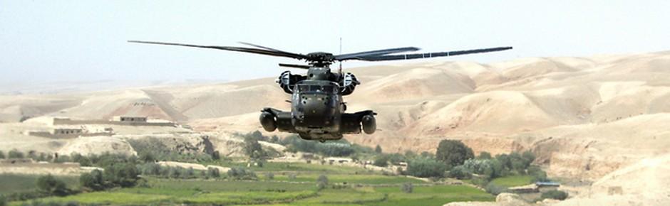 CH-53 der Bundeswehr in Nordafghanistan beschossen