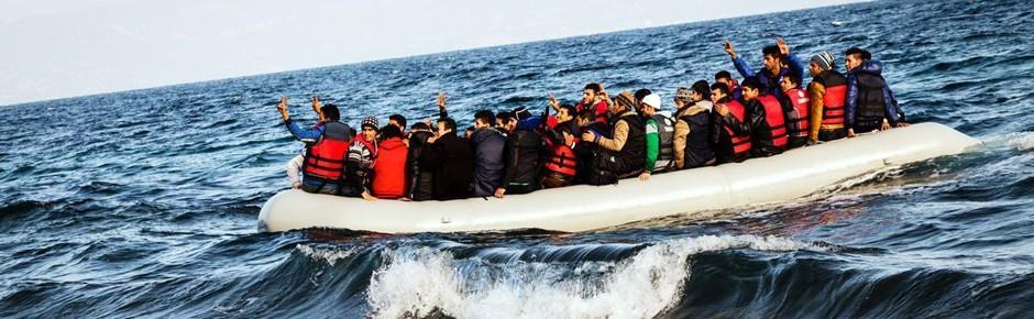 Flucht 2015: Eine Million Menschen kamen übers Mittelmeer