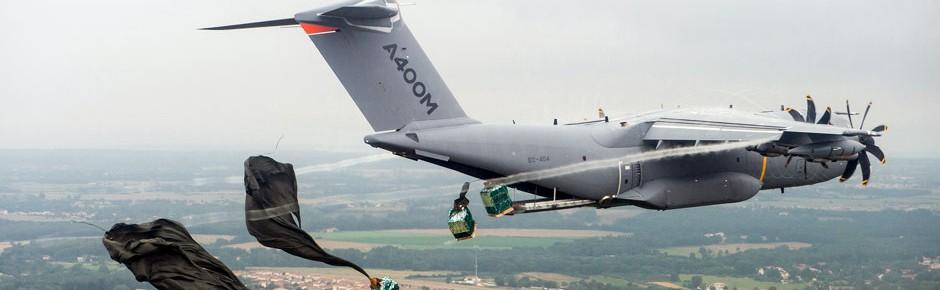Airbus testet intensiv Absetzmissionen mit dem A400M