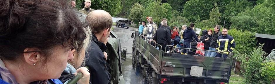 Notaufnahmeplatz bei Evakuierung nur für jeden 100. Bürger