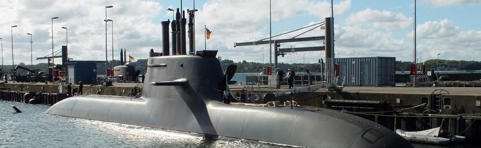 Uboot-Flotte der deutschen Marine jetzt komplett