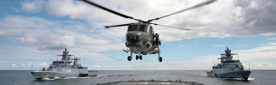Hubschrauber Sea Lynx wieder uneingeschränkt im Einsatz