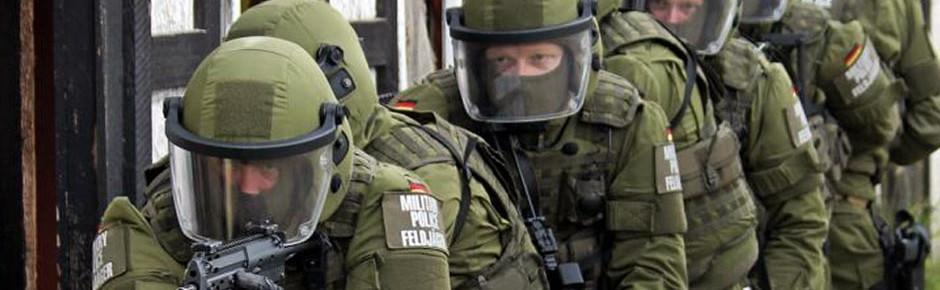 GETEX: Polizei und Bundeswehr gemeinsam gegen Terror
