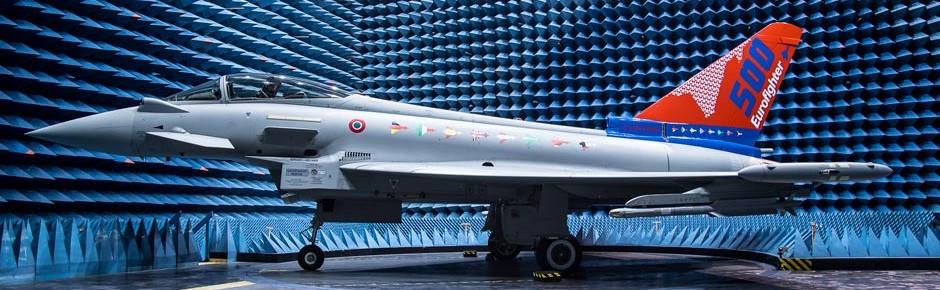 """Italienische Luftwaffe erhält Jubiläums-Eurofighter """"500"""""""