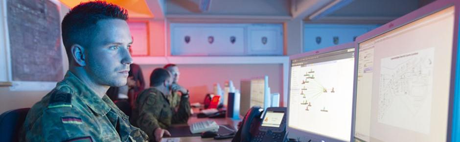 Jeden Tag rund 4500 Cyberangriffe auf die Bundeswehr
