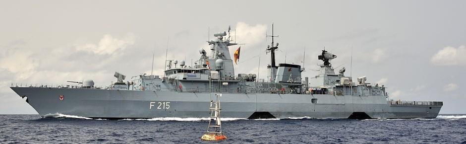 """NATO-Flaggschiff """"Brandenburg"""" bei Kollision beschädigt"""