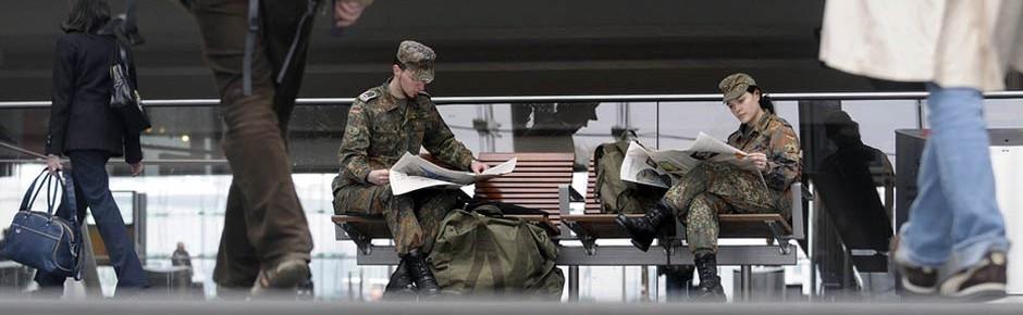 Bundeswehr nach wie vor eine Pendlerarmee
