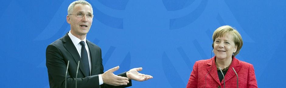 Themenfindung für NATO-Sondergipfel mit Donald Trump