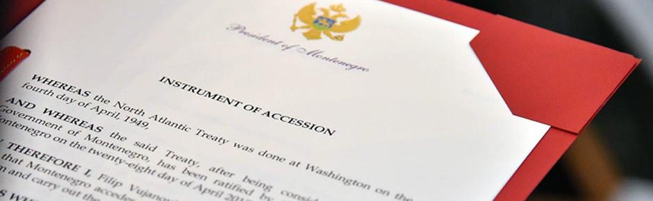 Montenegro jetzt offiziell Mitglied der NATO
