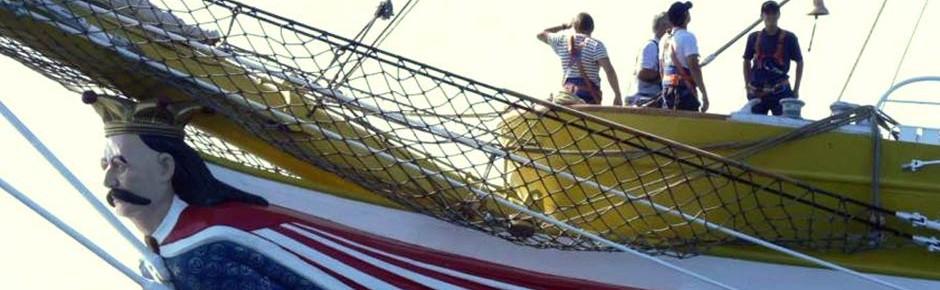 """Erste Ausbildungsfahrt mit Segelschulschiff """"Mircea"""""""