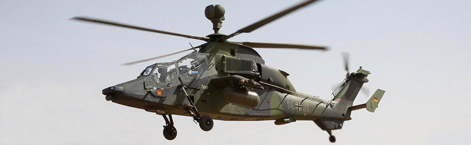 Zwei Bundeswehrsoldaten sterben bei Tiger-Absturz in Mali