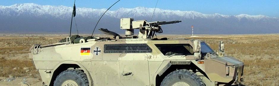 Bundeswehr erhält 30 Spähwagen Fennek JFST
