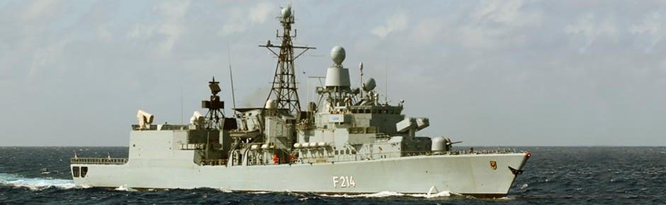 """Fregatte """"Lübeck"""" löst die """"Brandenburg"""" im NATO-Einsatz ab"""