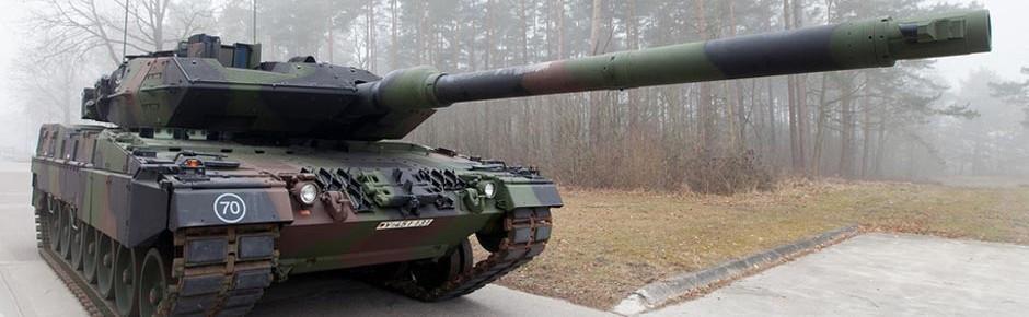 Rheinmetall beginnt Panzerumrüstung auf Leopard 2 A7V