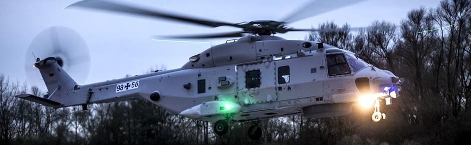 Zweiter Prototyp des NH90 Sea Lion erstmals in der Luft