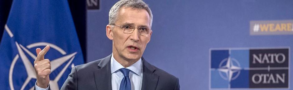 NATO-Chef Stoltenberg will höhere Verteidigungsausgaben