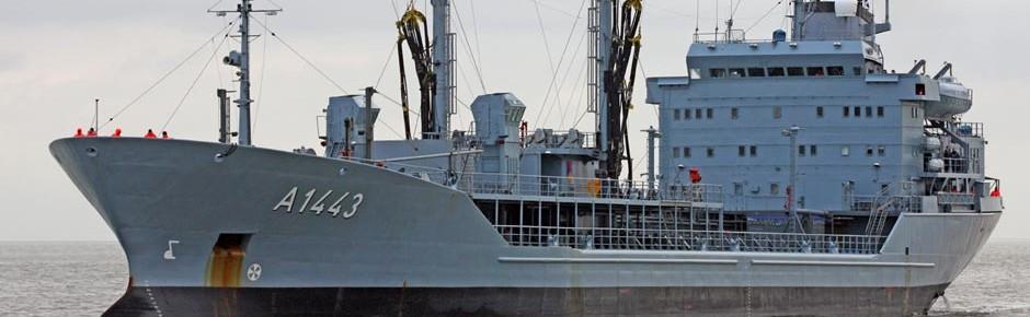 Deutsche Marine für lange Zeit ohne einen einzigen Tanker
