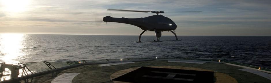 Hubschrauberdrohne Skeldar V-200 für deutsche Marine