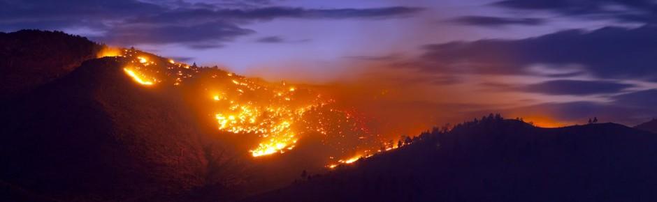 Hitze, Dürre und Flächenbrand – die Boten einer Klimakrise