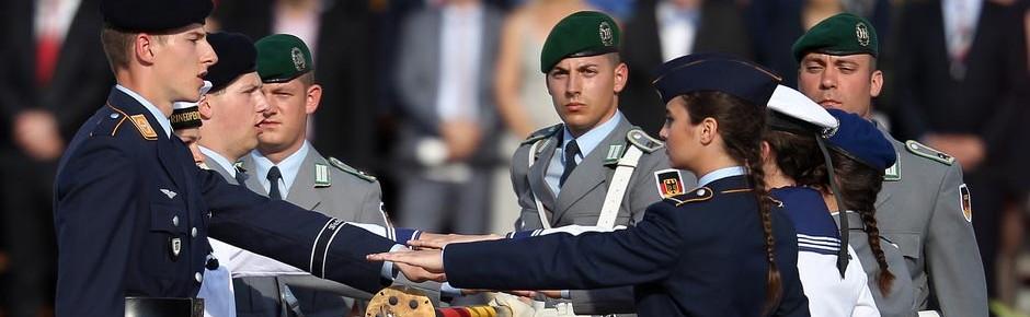 Weniger minderjährige Rekruten bei der Bundeswehr?