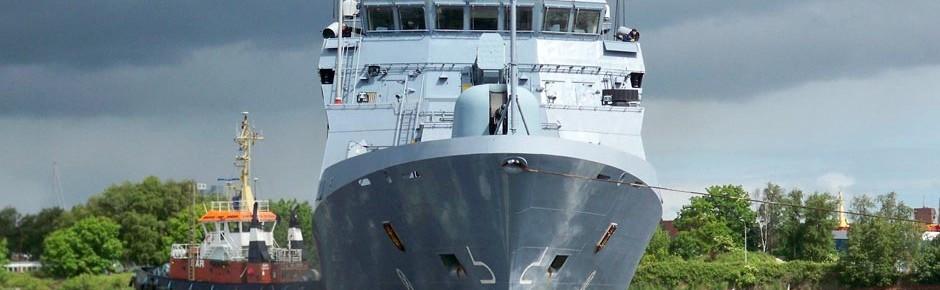 Fünf Patenstädte für die neuen Korvetten der Marine