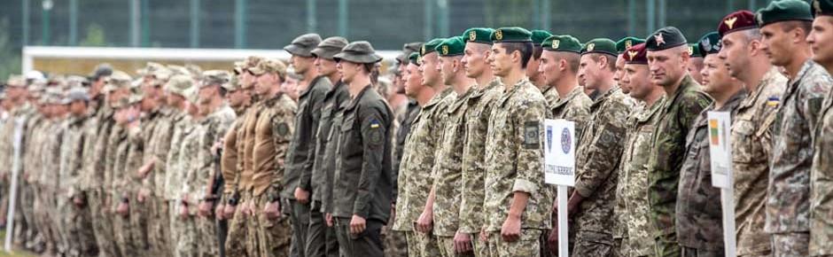 """""""Rapid Trident 18"""" – Zeichen der Solidarität mit der Ukraine"""