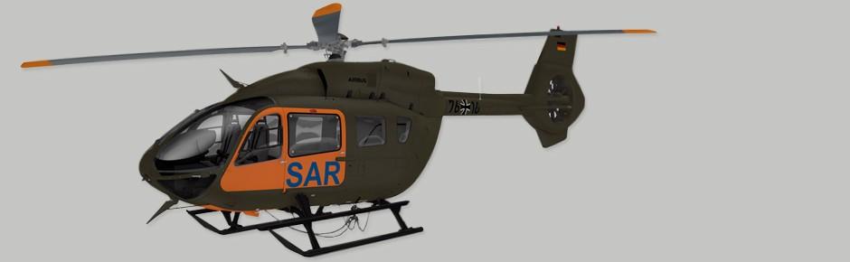 H145 wird neuer SAR-Hubschrauber der Bundeswehr