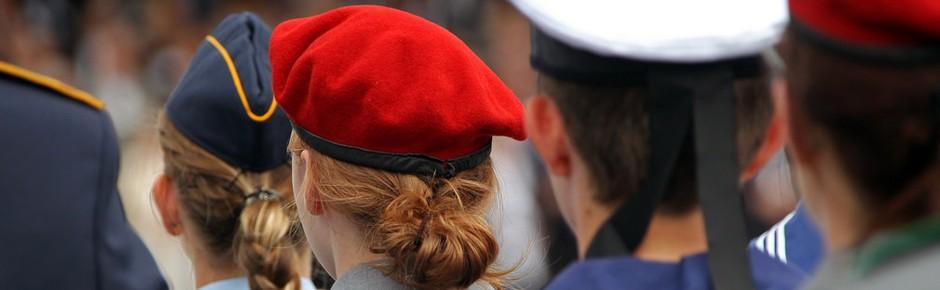 Zahl minderjähriger Rekruten in der Bundeswehr rückläufig