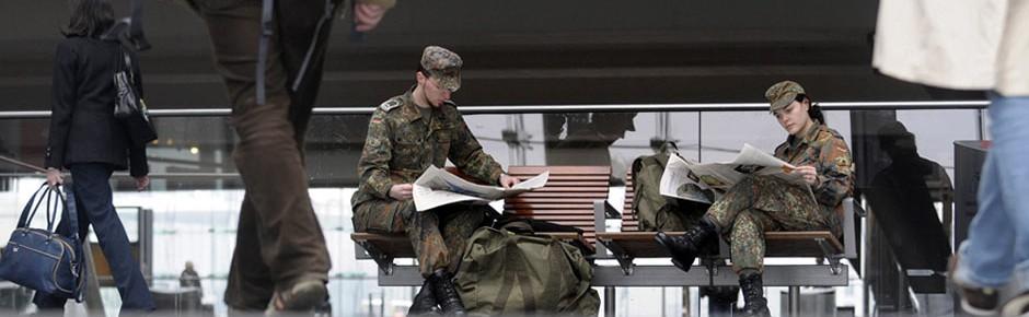 Für Soldaten bald freie Fahrt in allen Bahnen?