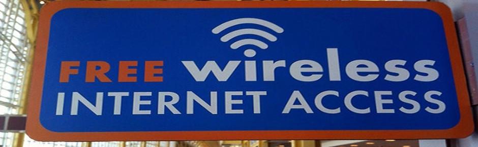 Warten auf kostenloses, schnelles Internet in der Kaserne