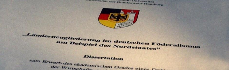 Helmut-Schmidt-Universität erkennt Doktortitel ab