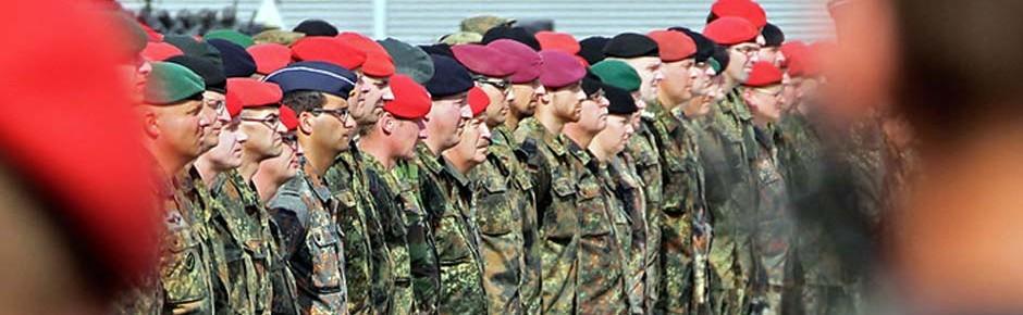 Durchschnittsalter der Soldaten steigt weiter an