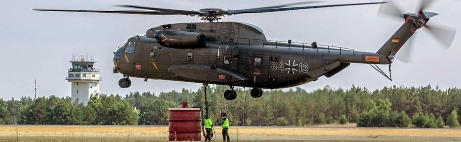 Von 71 CH-53 momentan nur 22 Maschinen einsatzbereit