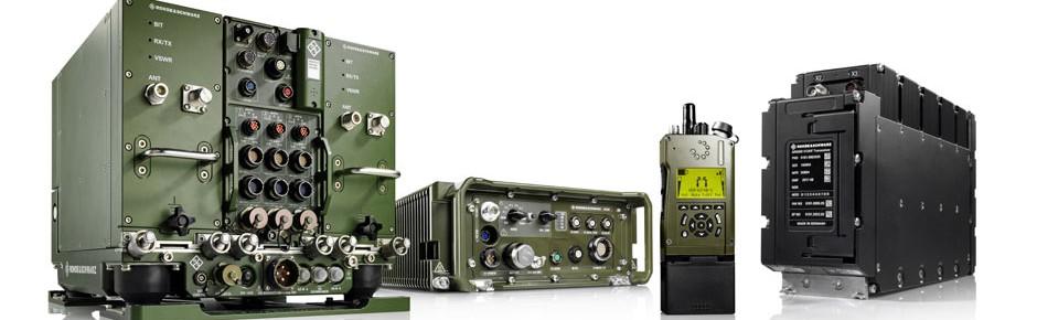 """Software Defined Radios """"Soveron"""" von Rohde & Schwarz"""