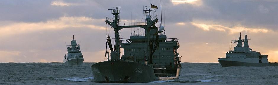 Bis 2024 zwei neue Flottentanker für deutsche Marine