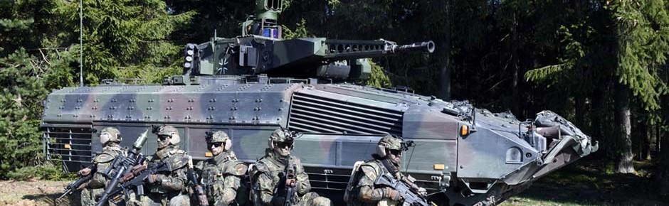 """System """"Panzergrenadier"""": Aufrüsten für NATO-Speerspitze"""