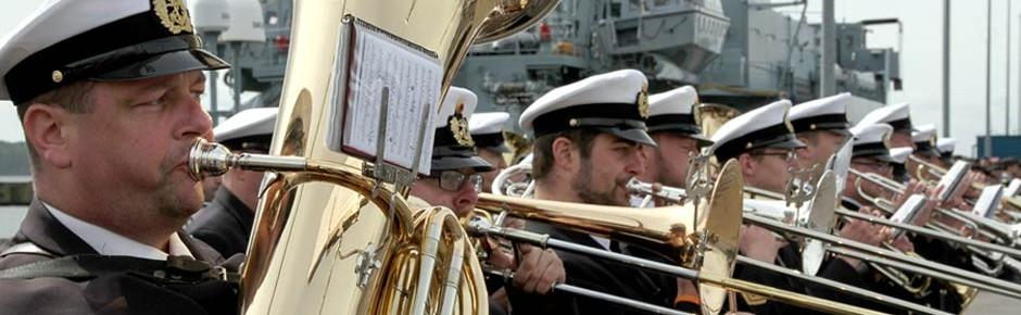 Dienstbeginn für das Marinemusikkorps Wilhelmshaven