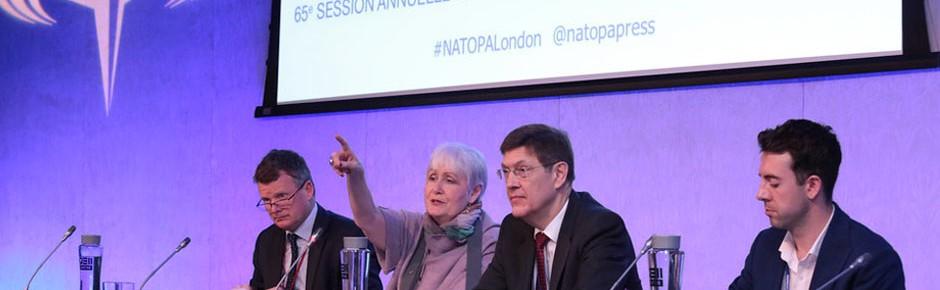 Parlamentarische Versammlung der NATO tagt in London