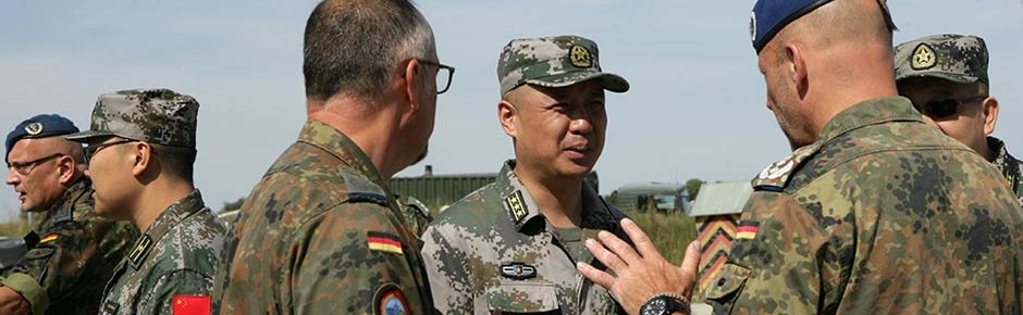 """Grüne: """"Militärische Zusammenarbeit mit China stoppen"""""""