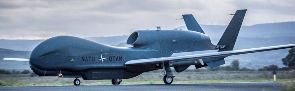 Erste NATO-Drohne RQ-4D in Europa eingetroffen