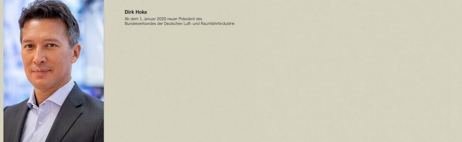 Dirk Hoke von Airbus wird neuer Präsident des BDLI