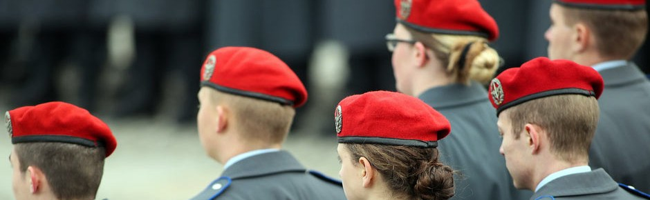 Zahl der minderjährigen Bundeswehrsoldaten rückläufig