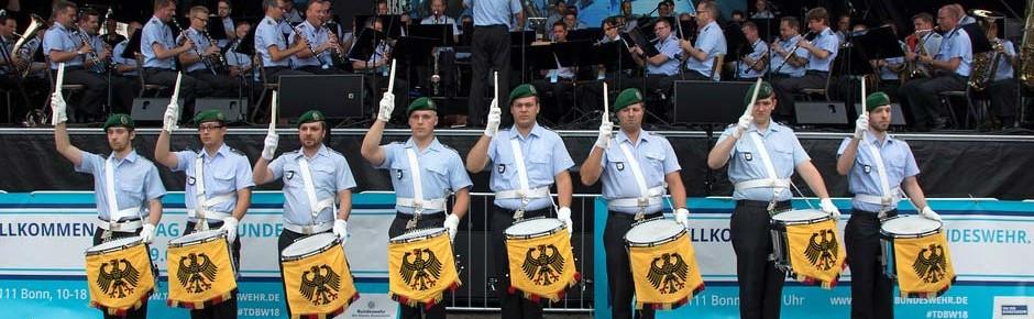 Seit 2014 rund 59 Millionen Euro für die Militärmusik