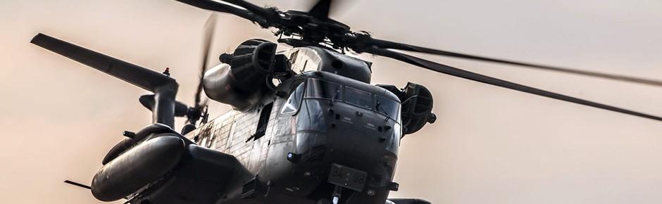 Erneut Schüsse in Nordafghanistan auf deutschen CH-53