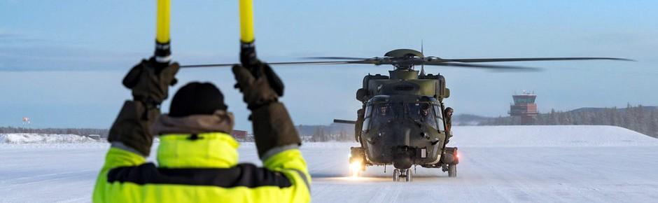 """Einsatzprüfung """"Arctic Trial"""" für Tiger und NH90"""