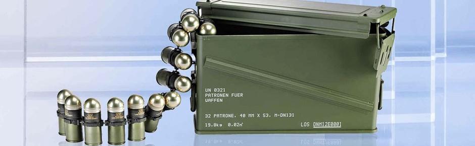 Munitionsreserven der Bundeswehr offenbar ausreichend