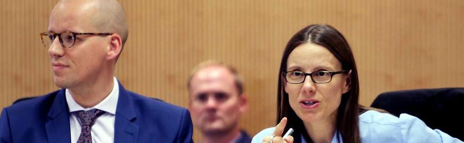 Katrin Suder und das Ehrenkreuz der Bundeswehr